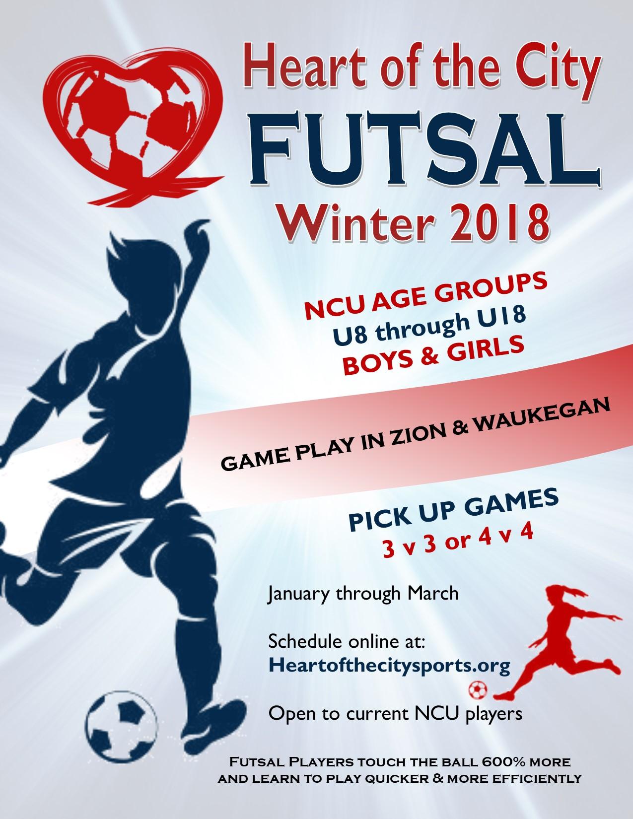 Travel Futsal Flyer