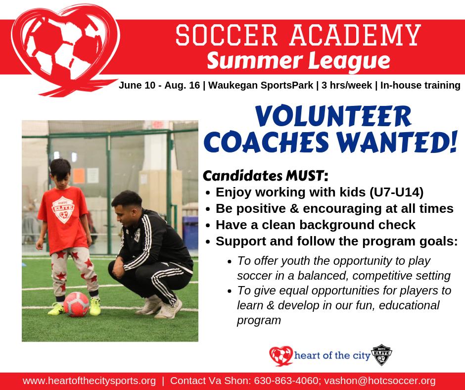 Coaches - Soccer Academy Summer League