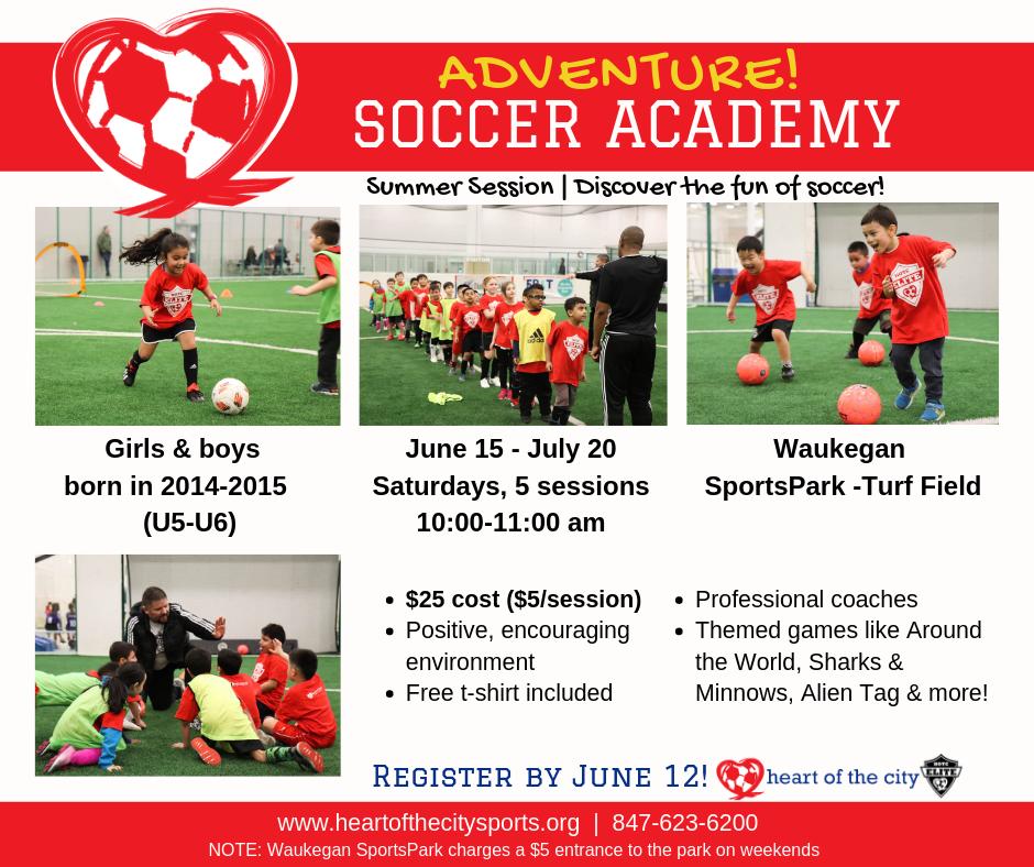Facebook Adventure Soccer Academy