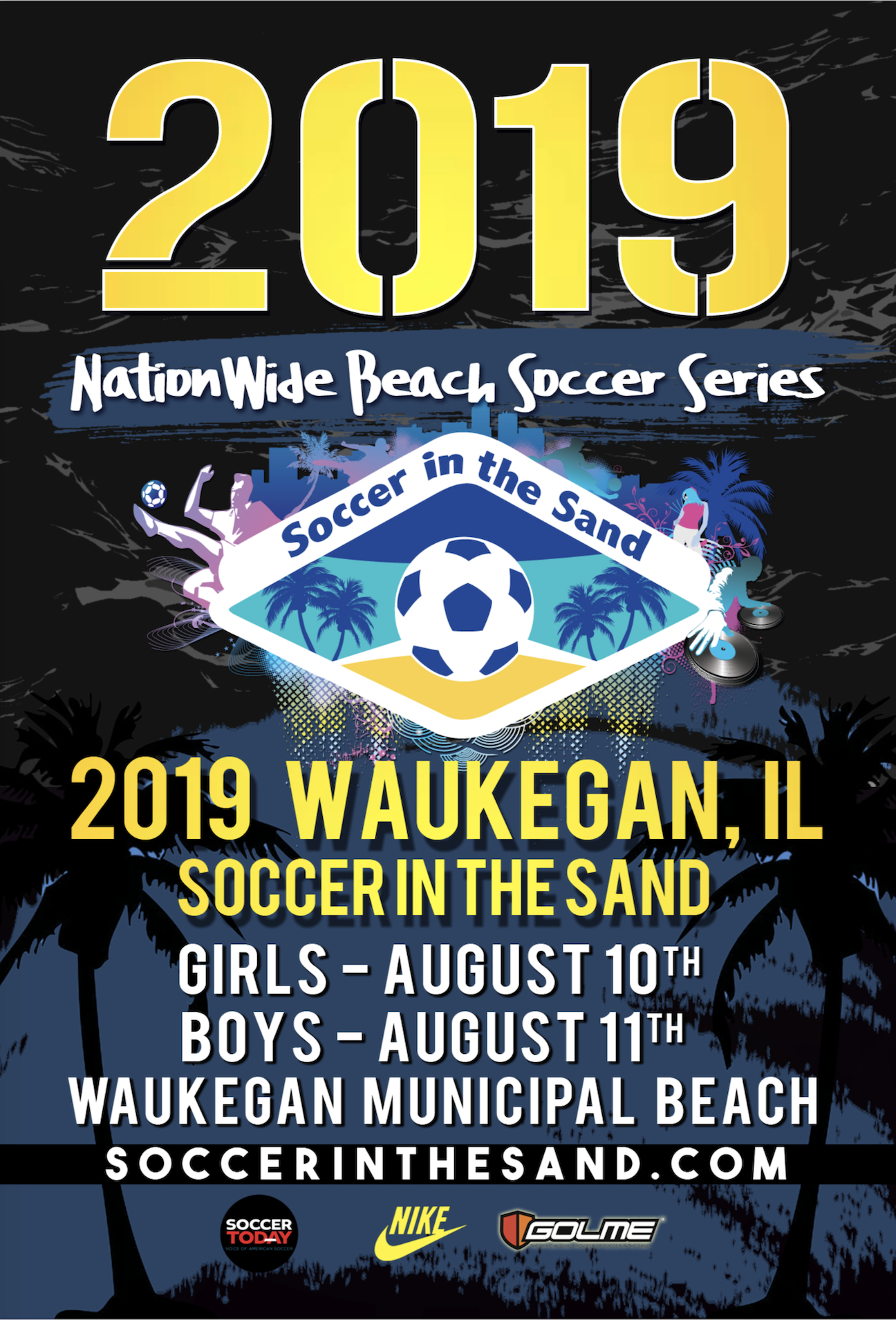 Soccer in the Sand - Front